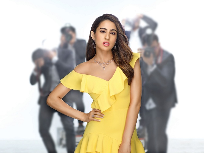 "TBZ-The Original, the iconic jewellery brand endorses the young sparkling star ""Sara Ali Khan"""