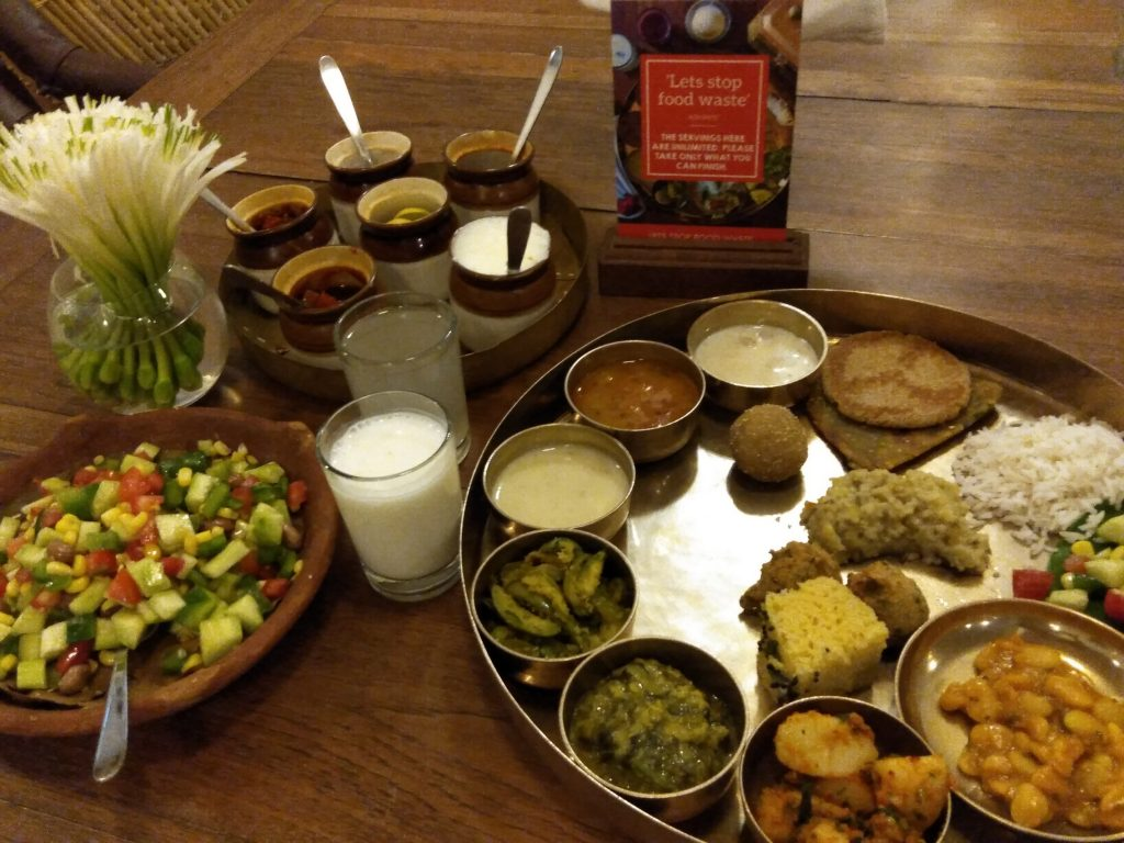 When in Gujarat – Relish the traditional Gujarati Meal