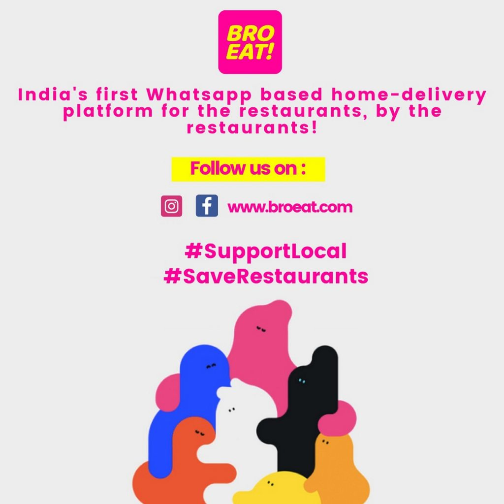 "India's First WhatsApp Based ""Unbundled"" Ecommerce Platform For  Restaurants And Small Food Businesses!"