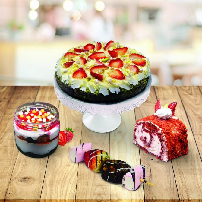 'SWEETNESS' – Innovative Desserts Collection from Barista