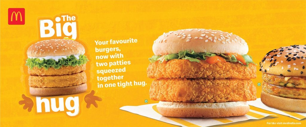 A Big Hug from McDonald's during COVID times