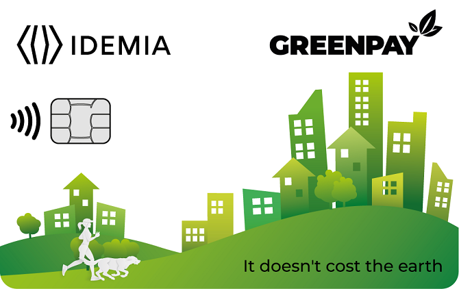 GREENPAY, a sustainable end-to-end offer portfolio for financial institutions by IDEMIA