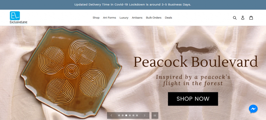Online Shopping With ExclusiveLane